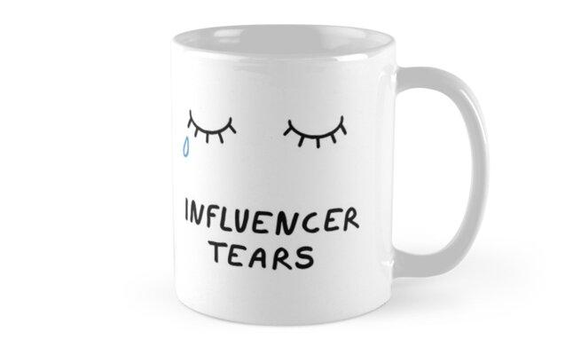 Influencer Tears von vincentbrod