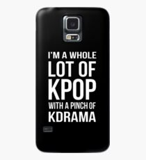 A LOT OF KPOP - BLACK Case/Skin for Samsung Galaxy