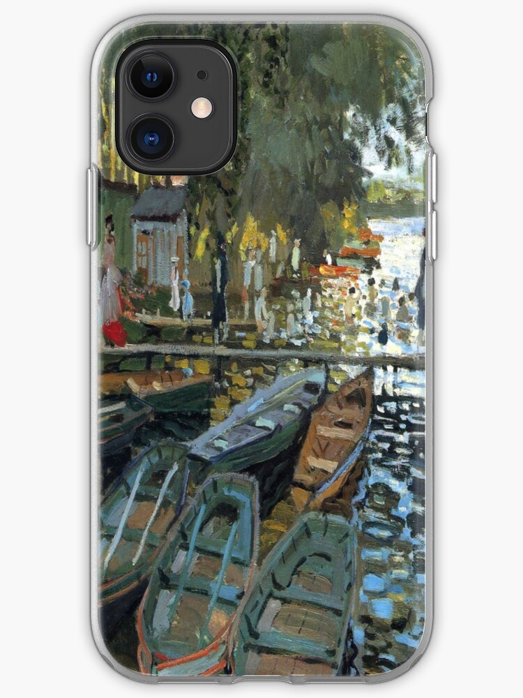 The Bathers iphone case
