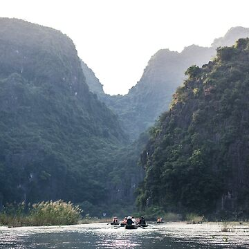 Some of the mountains in Ninh Binh by clemphoto