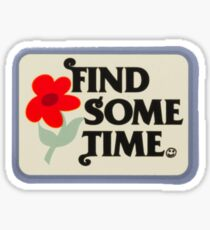 Tyler, the creator - Find Some Time (blue) Sticker