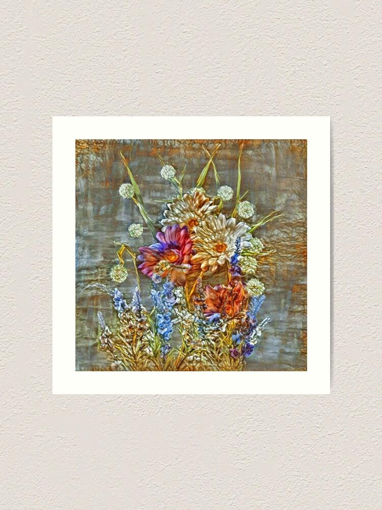 Alternate view of Flowers Art Print
