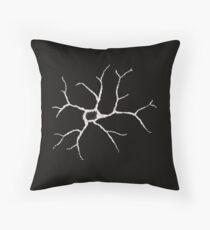 lone astrocyte Throw Pillow