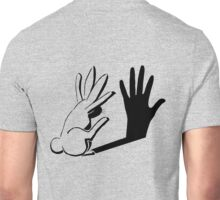 Shadow Rabbit by Light Illusions Unisex T-Shirt