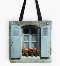 www.lizgarnett.com - Baden Shutters Tote Bag