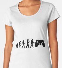 Gaming evolution development of the gaming gift Women's Premium T-Shirt