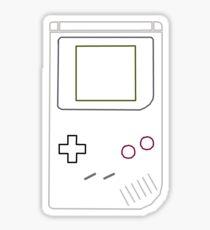 Gameboy Vector Sticker