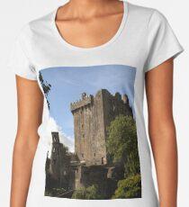 Blarney Castle keep - Ireland Women's Premium T-Shirt