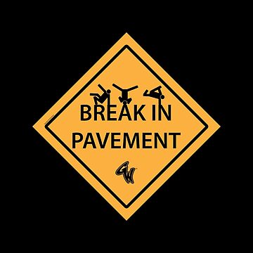 Break in pavement by theartistgrimm