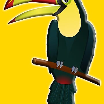Toucan, Tropical, Bird, Pet, fun, funny by TOMSREDBUBBLE