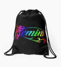 Stylish Gemini Drawstring Bag