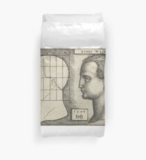 Drawing Chart by Albrecht Durer Duvet Cover