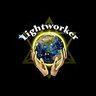 Lightworker Merkaba Logo by Hyrnrg