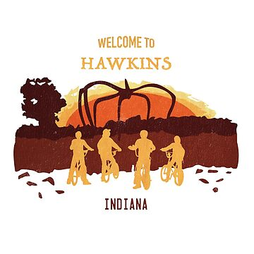 Welcome to Hawkins - Shirt by mctees