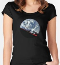 SpaceX Starman Women's Fitted Scoop T-Shirt