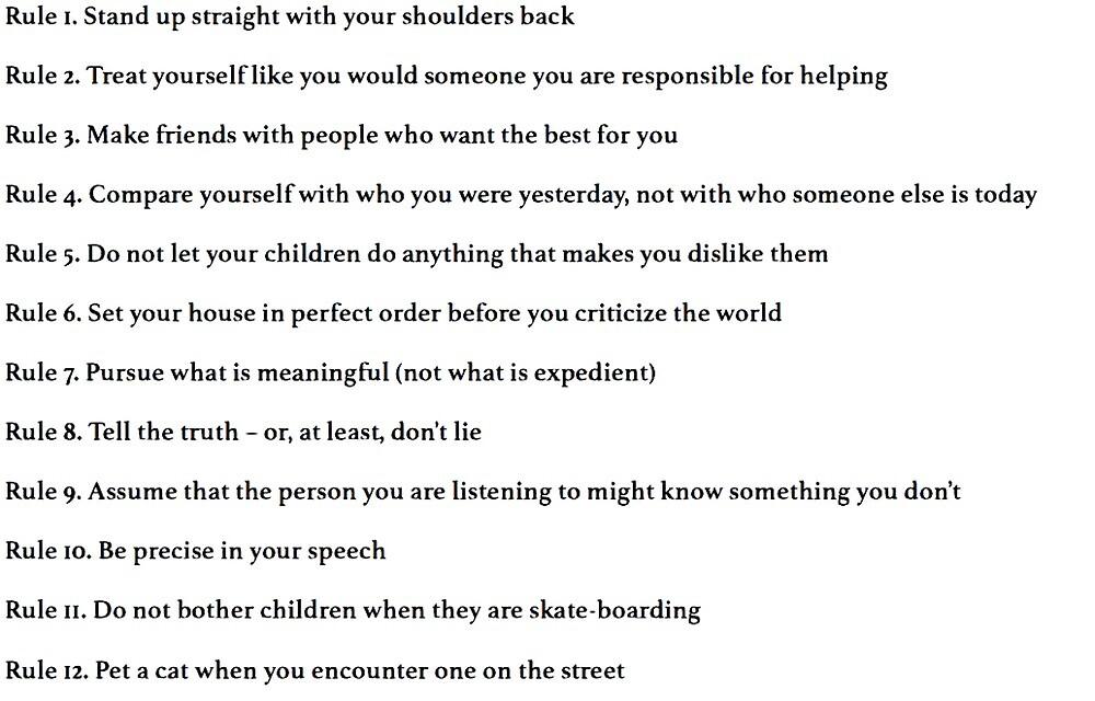 Susurro Raramente Privilegiado  Jordan Peterson 12 reglas para la vida» de lauragfarb   Redbubble