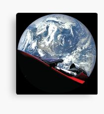 SpaceX Starman Canvas Print