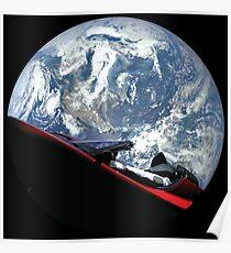 SpaceX Starman Poster