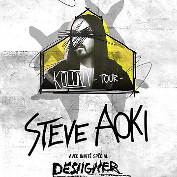 Steve Aoki Tour 2018 by fikriyansa