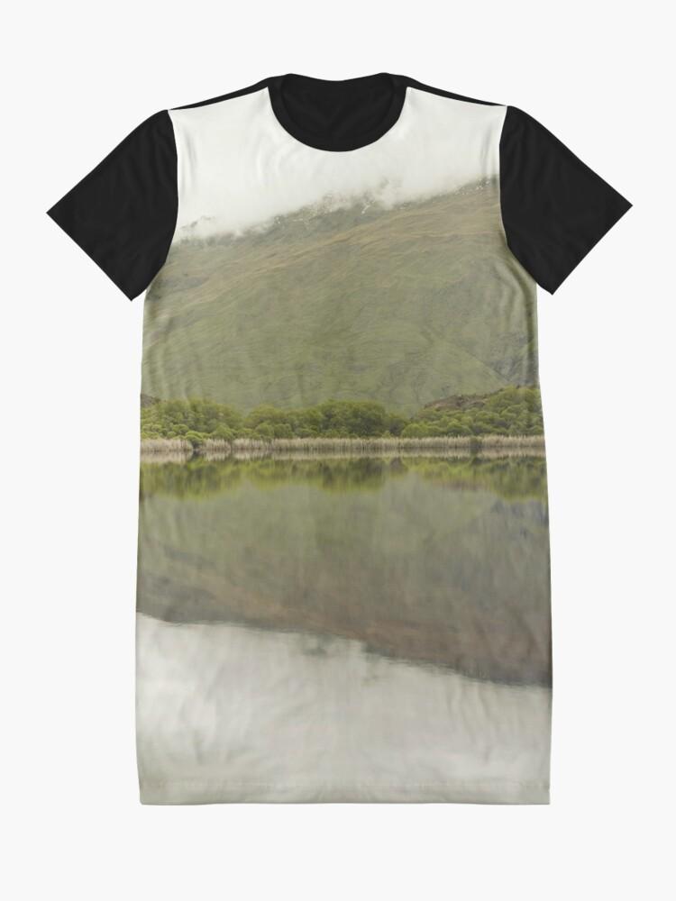 Alternative Ansicht von Reflexionen von Diamond Lake T-Shirt Kleid