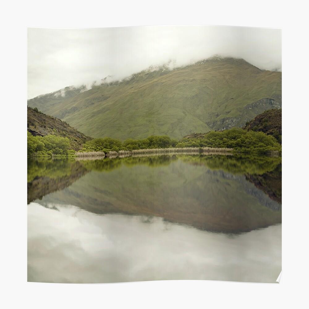 Reflexionen von Diamond Lake Poster