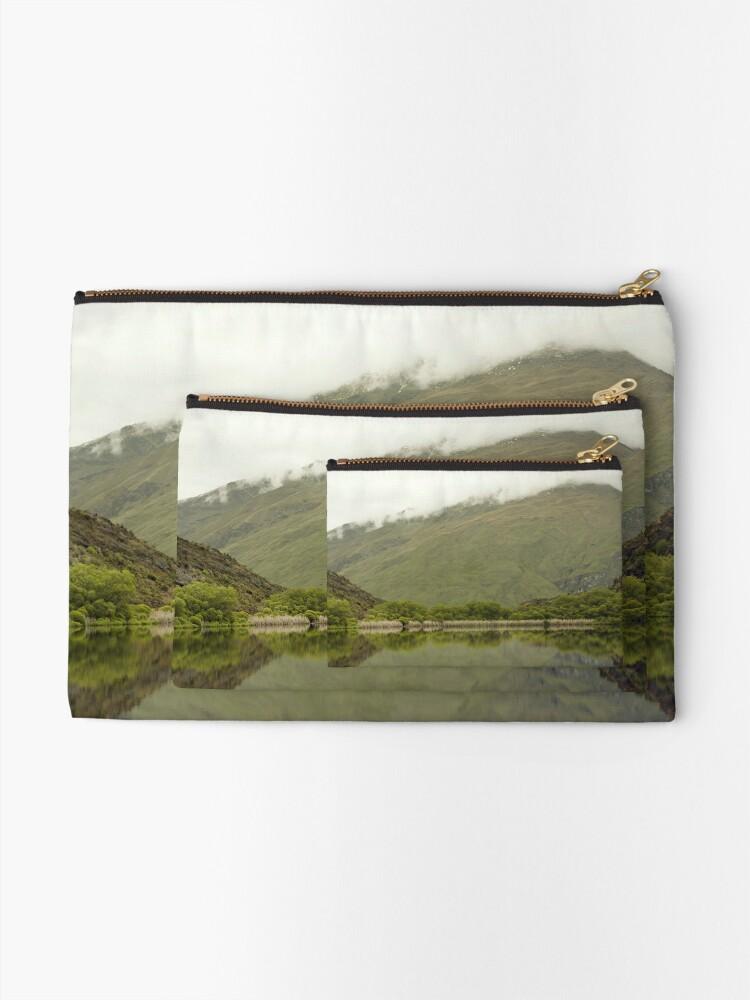 Alternative Ansicht von Reflexionen von Diamond Lake Täschchen