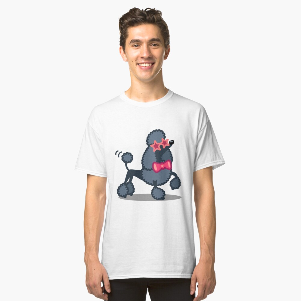 Funny Poodle Tshirt - Dog Gift Ideas for Toy Poodle and Miniature Poodle lovers Classic T-Shirt