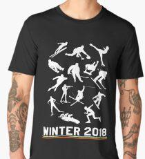 Winter 2018 Pyeongchang sports Men's Premium T-Shirt
