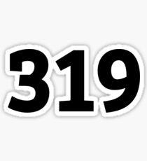319 Sticker