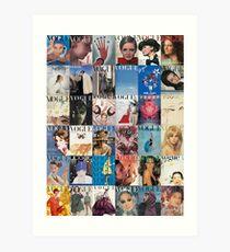 Vogue-ing  Art Print