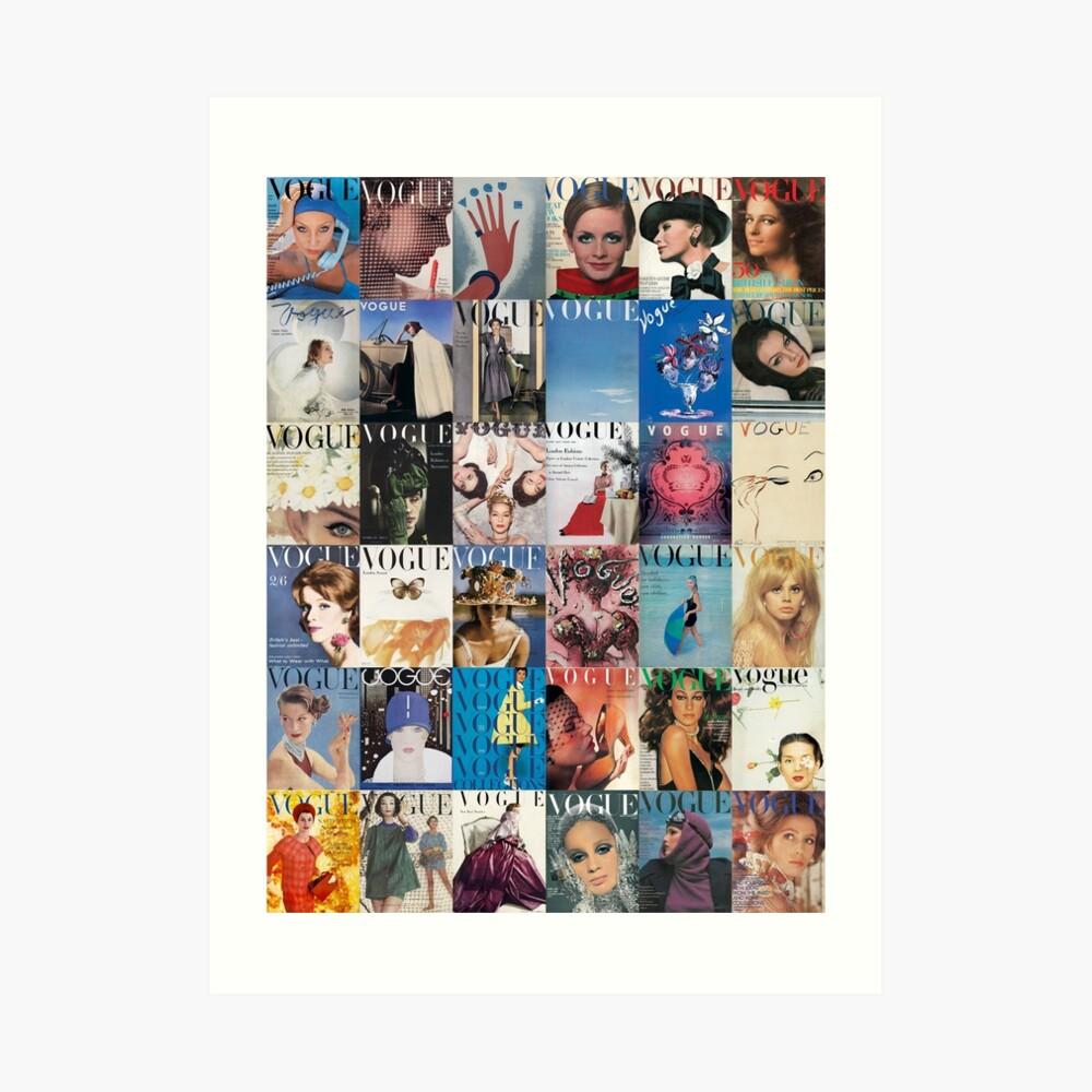 Vogue-Ing Kunstdruck