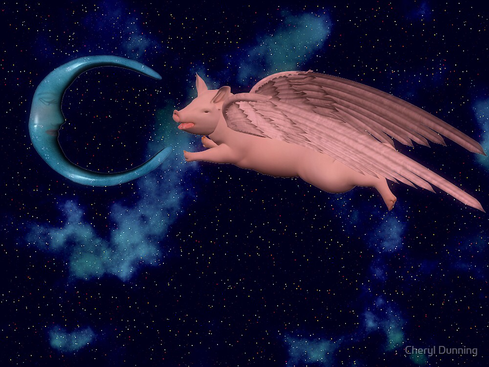 When pigs fly by Cheryl Dunning