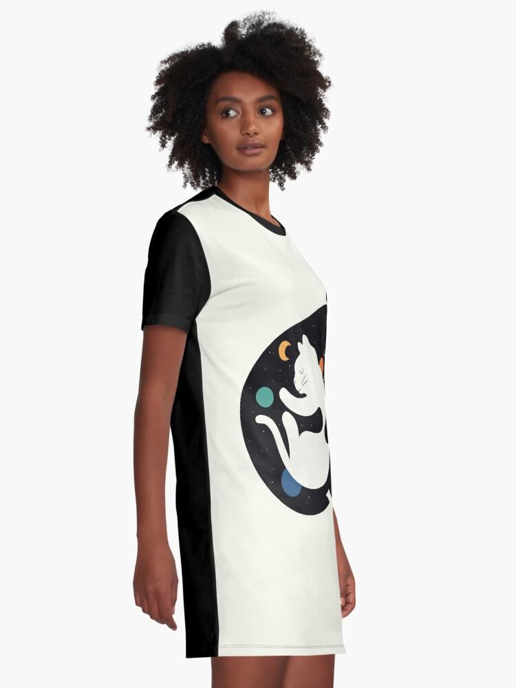 Alternative Ansicht von Mehr Umarmungen Weniger Kämpfe T-Shirt Kleid