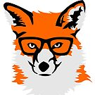 Hipster Fox by pda1986