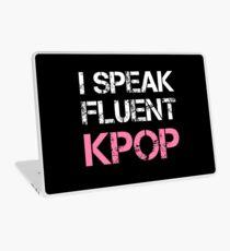 Ich spreche FLUENT KPOP - BLACK Laptop Folie