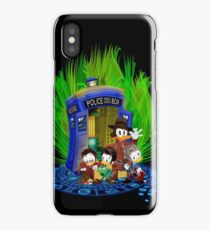4th Ducktor who and friends iPhone Case