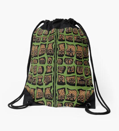 Sage Drawstring Bag