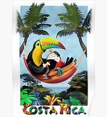 Tico Zeit - Costa Rica Poster