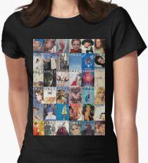 Vogue-Ing Tailliertes T-Shirt