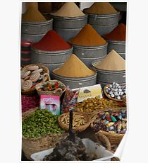 The colours of spice Poster