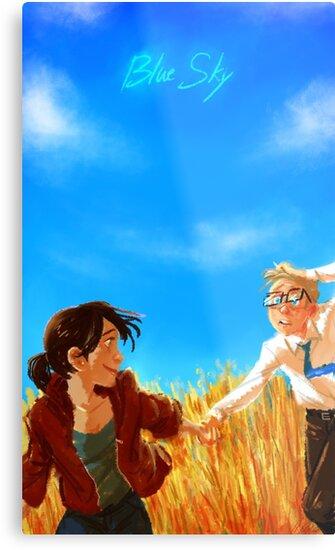 Blue Sky by bonkalore