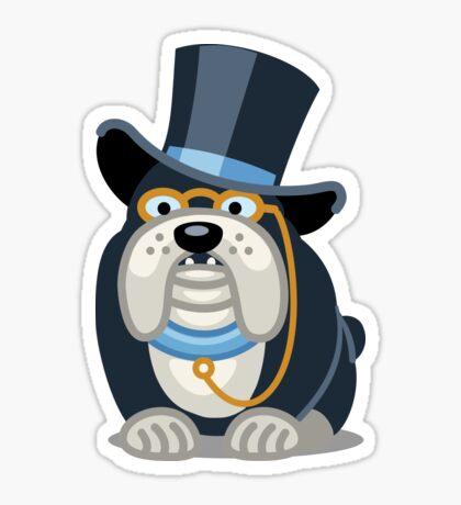 Funny Bulldog Tshirt - Dog Gifts for Boxer and Bulldog Pet Lovers Sticker