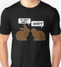 Mein Hintern schmerzt Kaninchen T-shirt Slim Fit T-Shirt