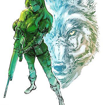 Sniper wolf by deathlesseye