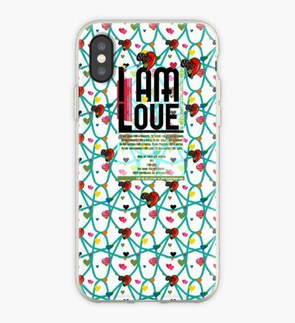 I am Love iPhone Case