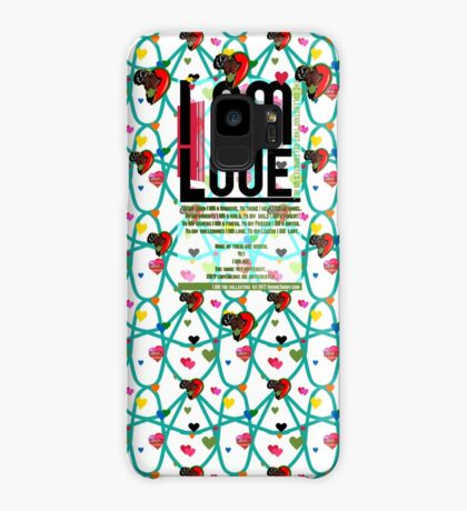 I am Love Case/Skin for Samsung Galaxy