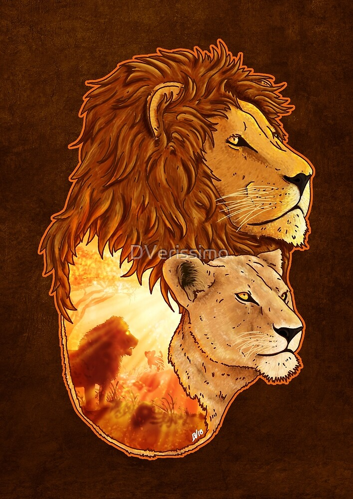 Lion Pride by DVerissimo