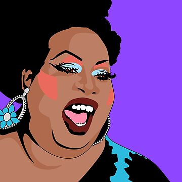Latrice Royale Pop Art Illustration by wretchedginger