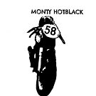 Monty Hotblack #58 blk  by Suzanne Clements