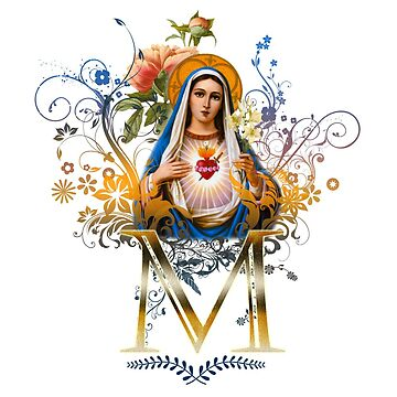 Immaculate Heart of Mary by HappyCatholics